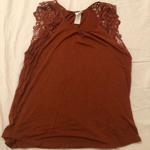 Lace top / size xs
